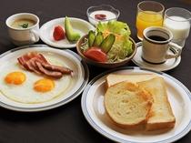 【朝食の一例】洋朝食