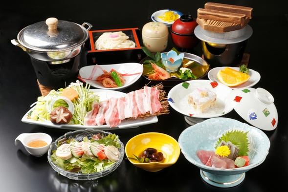 ★シーズン限定★あったか美味しい♪香川県産 豚のしゃぶしゃぶ会席