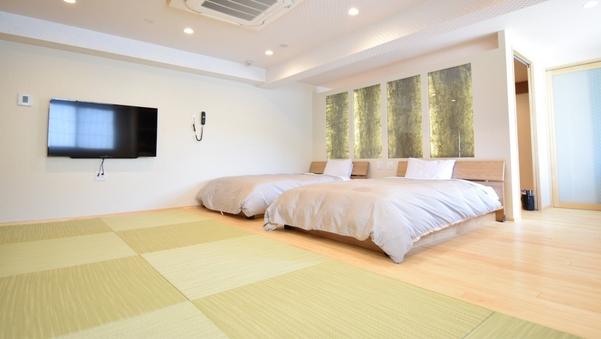 専有風呂+食事専用ダイニングルーム付70平米特別モダン和洋室