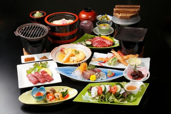 【会場食】特撰うまいもん三昧+讃岐県産牛ステーキ!で1泊2食付きプラン♪