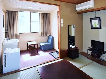 6畳和室(トイレ付・アウトバス)