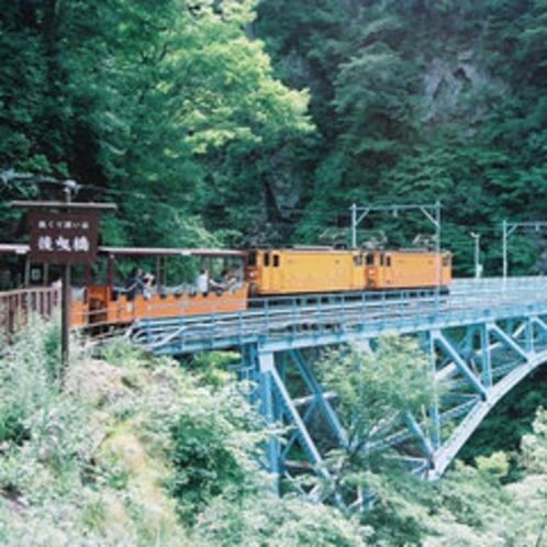 黒部峡谷鉄道【後曳橋】