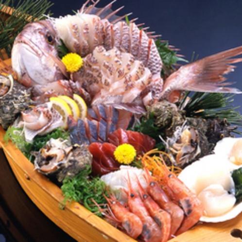 【一品料理※要予約】舟盛(4~5人前)¥11,000