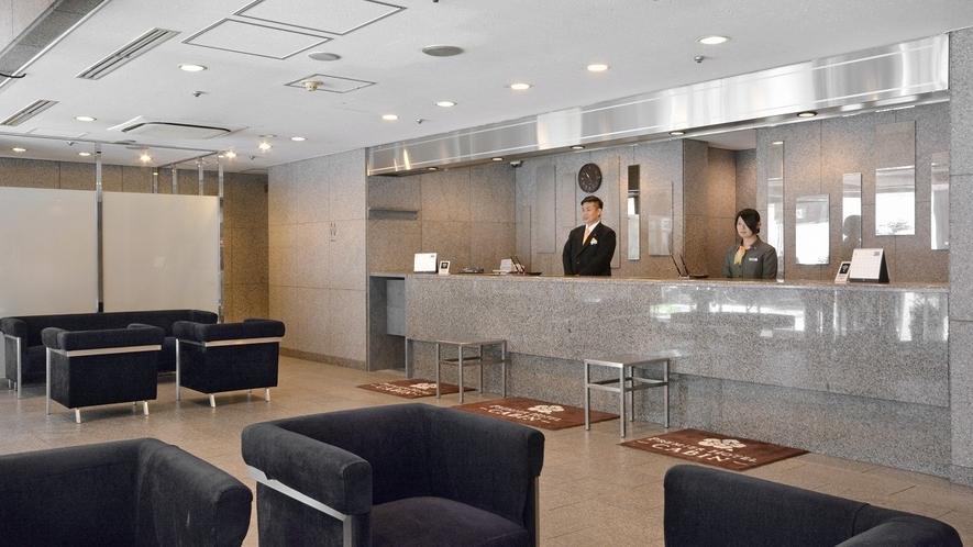 フロントは24時間体制でお客様の滞在をサポートいたします。