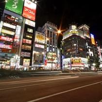 アクセス良好。CABIN新宿でごゆっくりお寛ぎください。