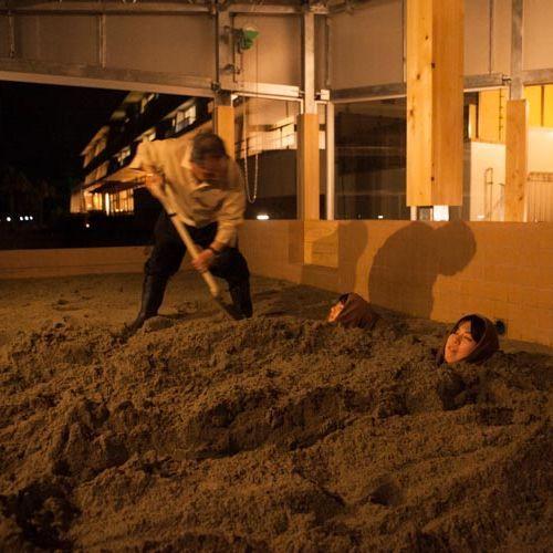 砂むし温泉 耳に心地よいさざなみを聞きながら、夜の砂むしも楽しみたい