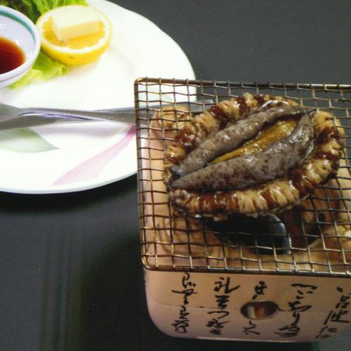*料理一例/あわび踊り焼き
