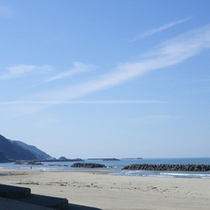 *湯の浜海岸