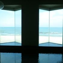 *眺望の湯 窓