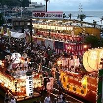 【夏】 7月15・16日に開催される熱海こがし祭り・夏の夜を盛り上げます