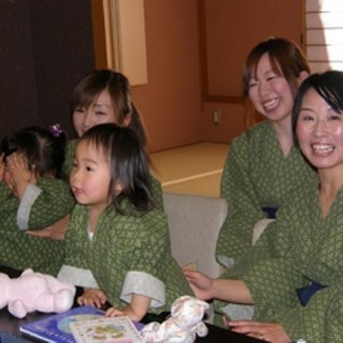 ママもちびっこも安心☆夏休みは家族3世代でゆったりとお過ごしください