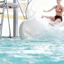 【夏】 マリンスパ熱海のウォータースライディングで気分爽快♪