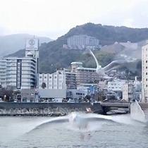 【初夏】 熱海港から出港する遊覧船『ゆーみんアルファ』で風を受けてクルージングへGO♪