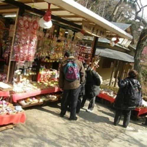 【冬】 1月から開催される梅まつり会場までは車で約5分