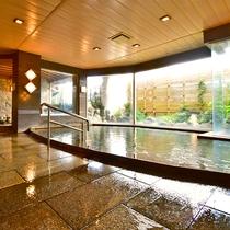 男性大浴場 良質な熱海温泉を思う存分