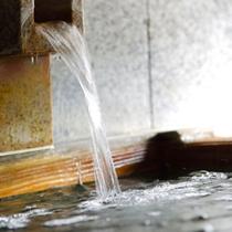 泉質自慢!温泉はPH7.8の美肌効果も期待できる弱塩泉