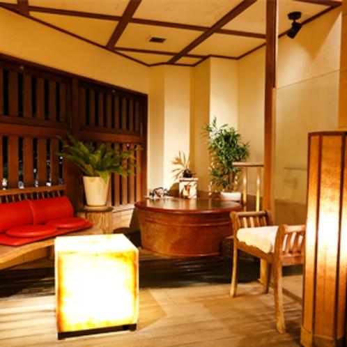 半露天風呂付き客室【珊瑚-sango-】しっとりとしたアジアンテイストな客室