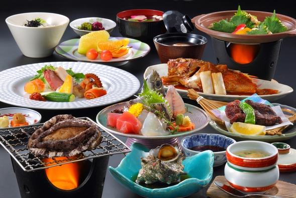 ☆【平日休日限定50歳以上のお客様】お1人1000円引き アワビと昇鶴膳プラン