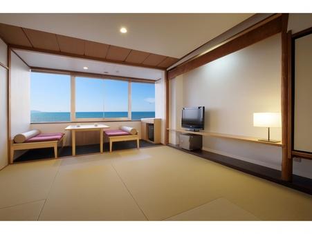 【海側3階和室】8〜10畳(バス・トイレ付)禁煙