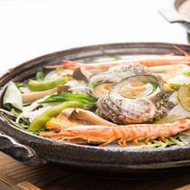 瀬戸内魚介の蒸し鍋