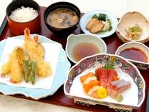 【選べる夕食プラン】和定食の一例 季節の食材を調理いたします