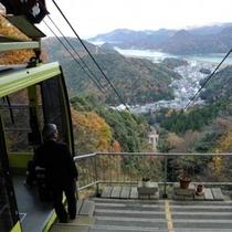 おすすめ観光! 城崎ロープウェイ 山頂駅からは城崎の全景から日本海までが 当館から車で約5分