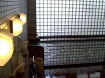 当館2階にあります天然温泉大浴場女湯