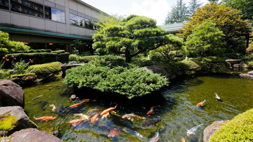 茶道宗和流の創始者「金森宗和」が生み出した雅の世界と飛騨の自然を融和した「回遊式日本庭園」