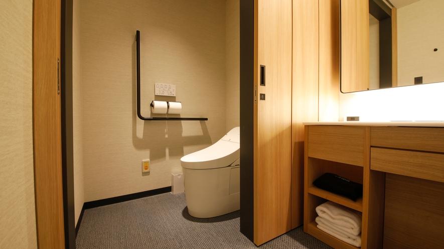 【桜凛閣】プレミアツインユニバーサル トイレ