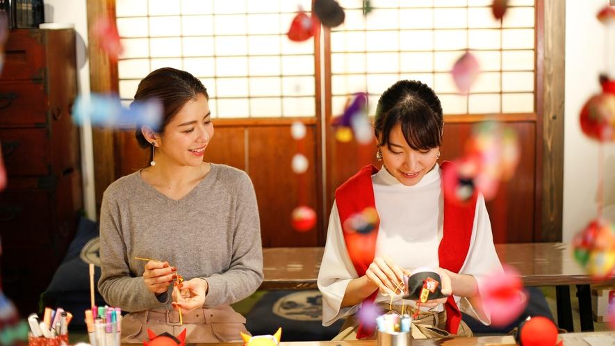 <さるぼぼ作り体験>1,400円~