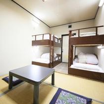 *【部屋一例】和室6畳+2段ベッド
