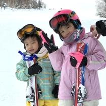 *お子様のスキーデビューにいかがですか!?レストランにはキッズコーナーもございます!
