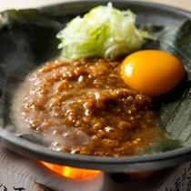 【朝食】龍リゾートオリジナル◇朴葉味噌焼き