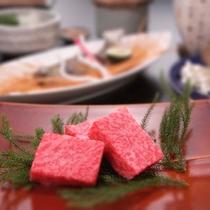 【A5飛騨牛】きめ細やかな美しい霜降りと、口当たりの柔らかい豊潤な味わいが特徴です。