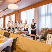 【朝食】朴葉味噌や毎朝手作りするいなか豆腐など、飛騨の幸をたっぷりと♪朝食はビュッフェ形式となります