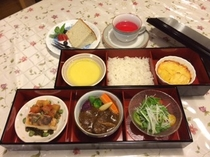 お部屋食夕食一例
