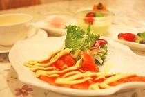 *【グレードアップ夕食】ヤシオマスは栃木県で品種改良されたニジマスです!ご当地の味覚をご賞味ください
