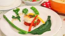 *夕食メニュー例/真鯛のソテー