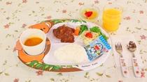 *お子様用夕食一例/幼児のお子様用メニューです。
