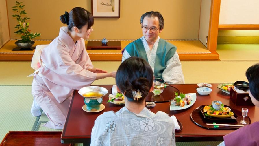 【楽パック】神戸牛たっぷり120g鉄板焼会席〜お部屋食