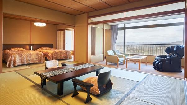 北館最上階ベッドルーム付和室【禁煙】H