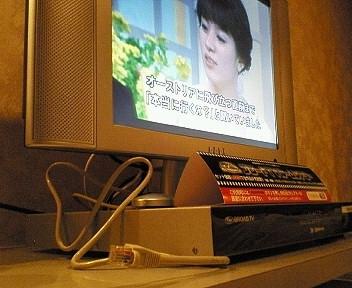 客室内無料LAN回線