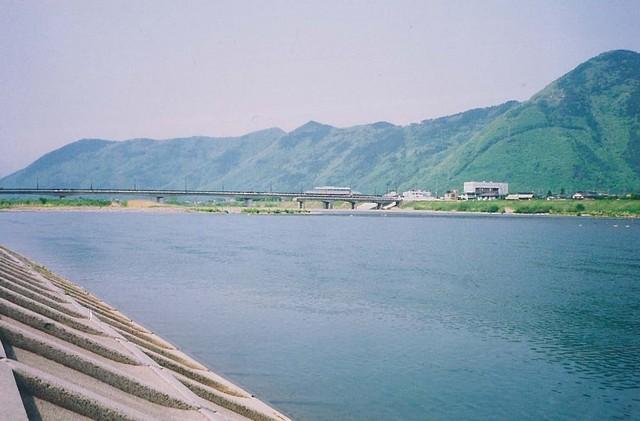 千曲川の風景