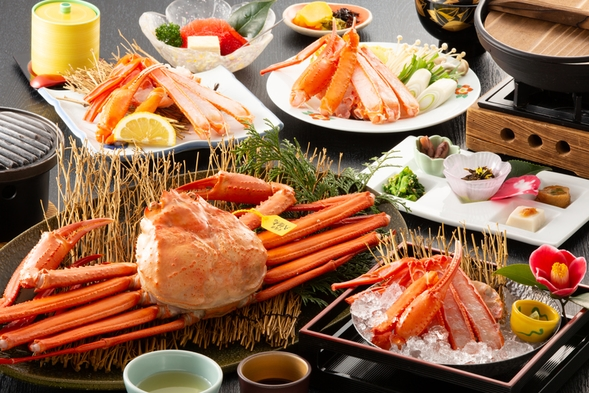 【紅ズワイガニ祭り】通称「香住ガニ」を食べづくす☆紅ガニ満足プラン