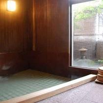 ひのき風呂「胡蝶」