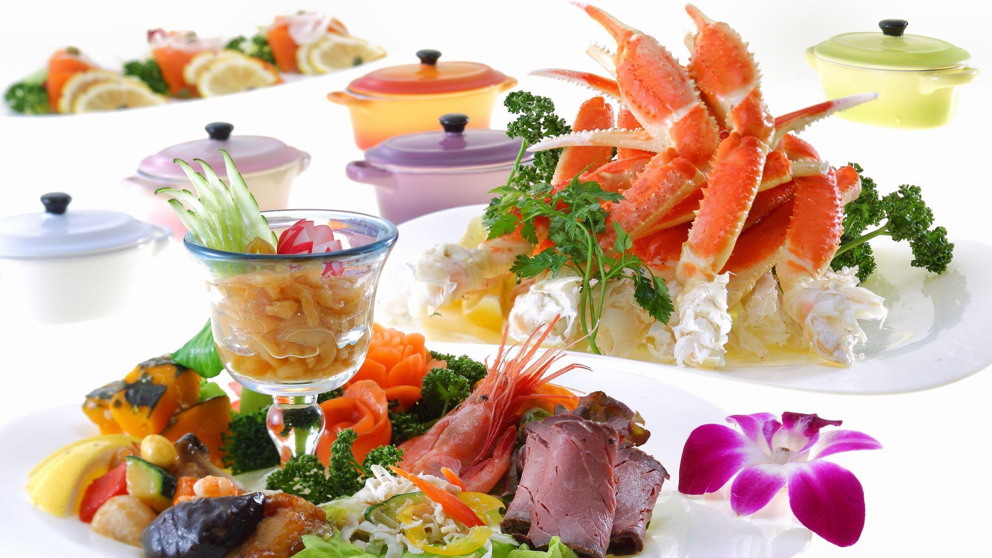 ◆ブッフェ料理一例