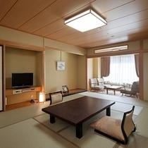 ◆秀峰館和室渓谷側12畳①