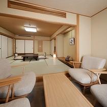 ◆秀峰館和室渓谷側12畳②