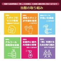◆感染症対策について<当館の取り組み>
