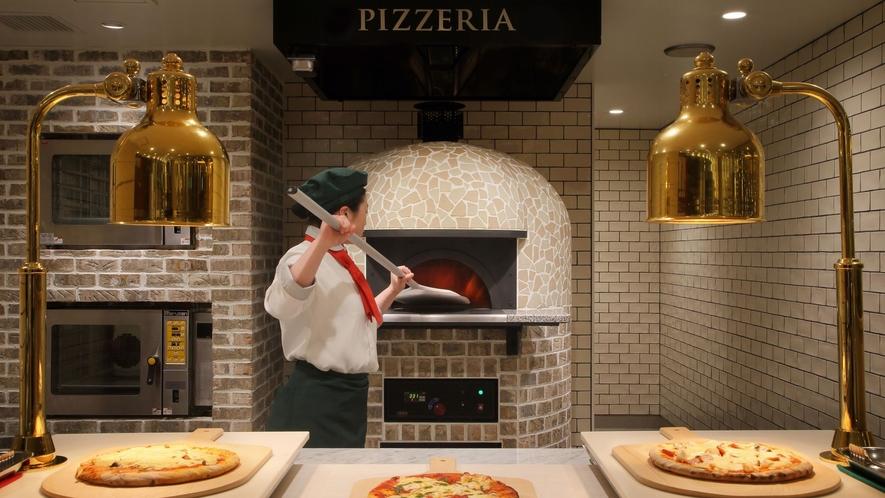 ◆焼き立てのピッツァ